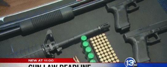 Assault #weapons deadline Tuesday