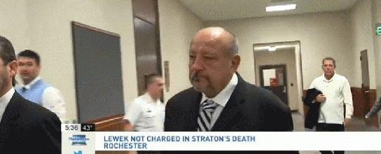 WOW no #homicide charges for Dr. Lewek