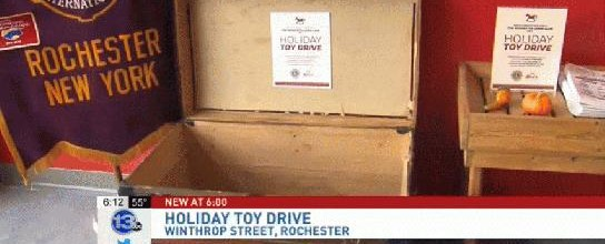 #Holiday #ToyDrive kicks off #Downtown