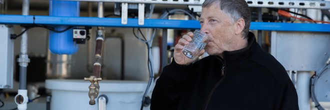 @BillGates Has Learned How To Turn #Human Waste Into Drinkable #Water