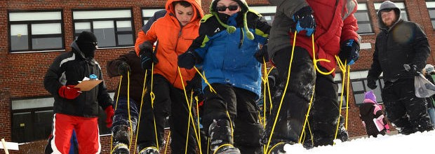 Cayuga County-area Boy Scouts test their winter survival skills